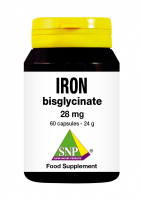 Iron bisglycinate 28 mg