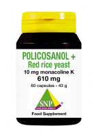 Policosanol + Red Yeast Rice