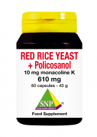 Red Yeast Rice + Policosanol