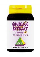 Panax Ginseng Extract + Royal Jelly + Guarana