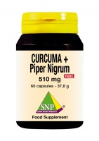 Curcuma + Piper Nigrum 510 mg Pure