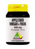 Apple cider vinegar + Fucus